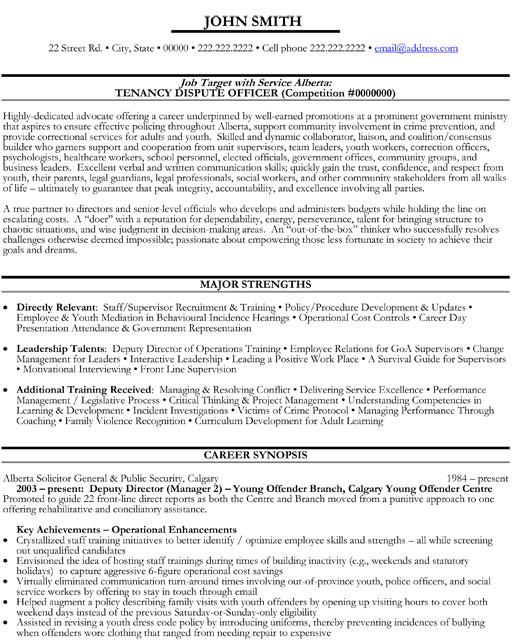 Dispute Officer Resume Template Premium Resume Samples