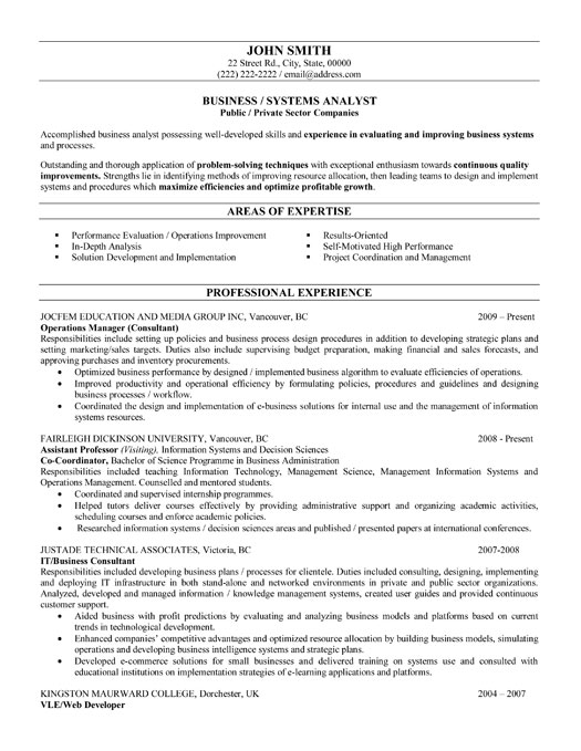 Business Resume Examples Functional Resume Example Top 25 Best