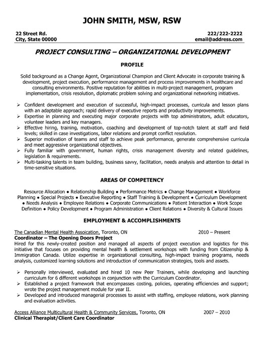 Project Coordinator Resume Template  Premium Resume Samples  Example