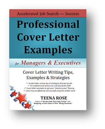 Cover Letter Examples  Free Book With Cover Letters