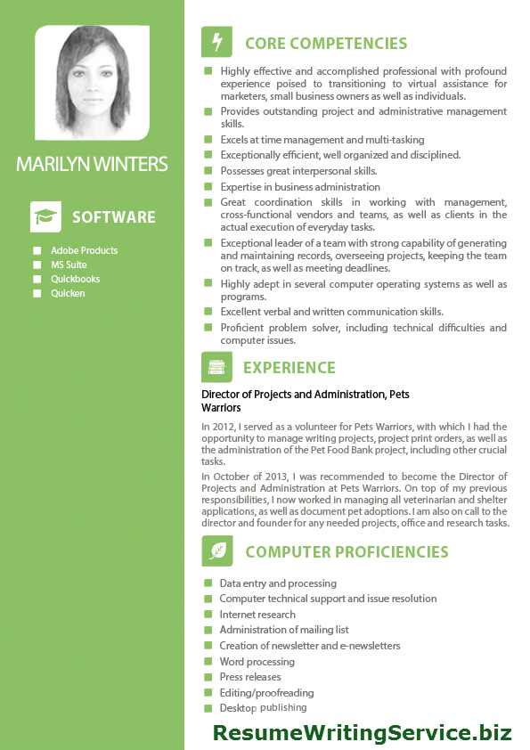 Virtual Assistant Resume Example Examples Of Resumes - Unique virtual assistant resume concept