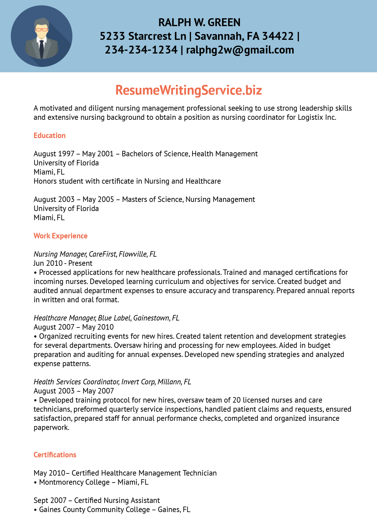 Resume Cover Letter Health Care | Best Collection Rooms Chairs