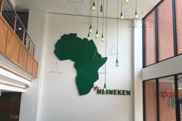 heineken feature wall