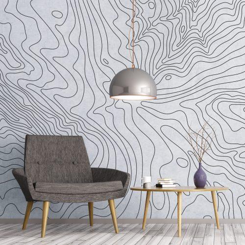 Ariel Contour wall art