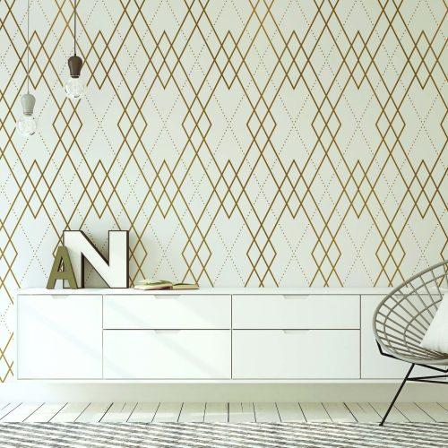 Elegant Gem wall paper