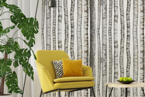 Paper Bark wall lining