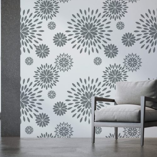 Dynastic Bouquet wall paper