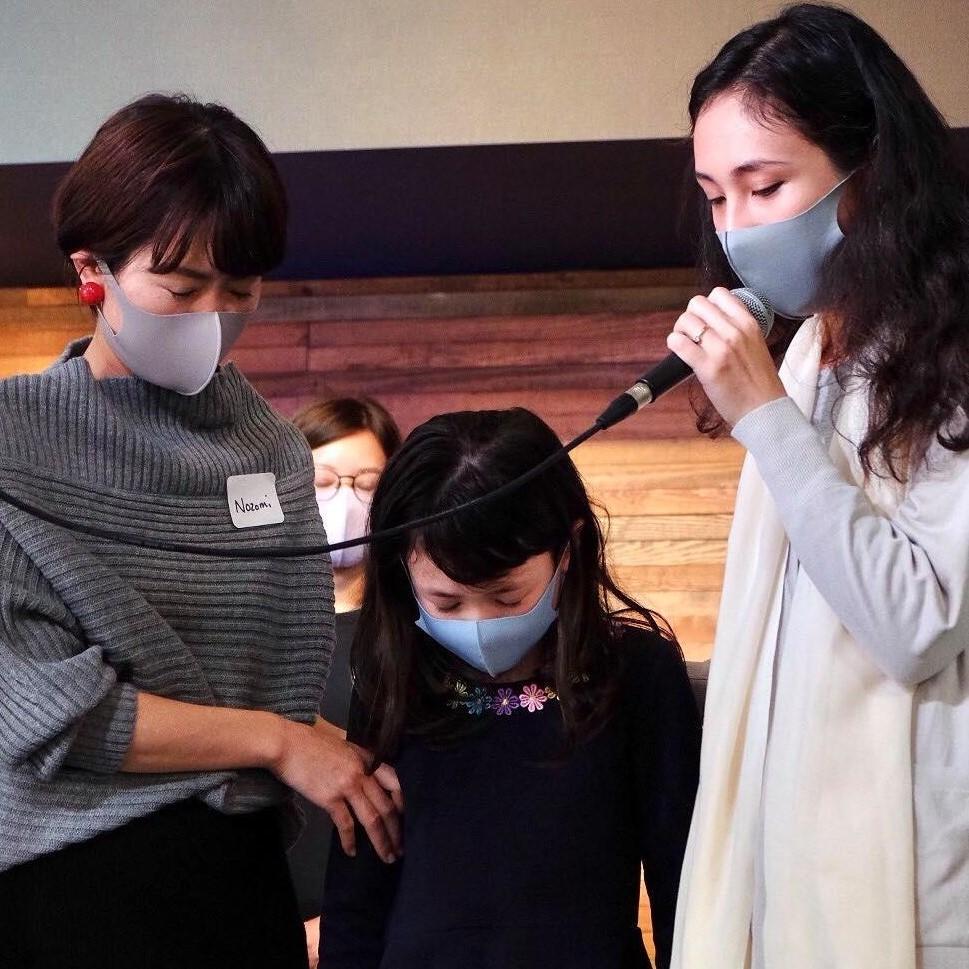 Baptism in Kobe, Japan