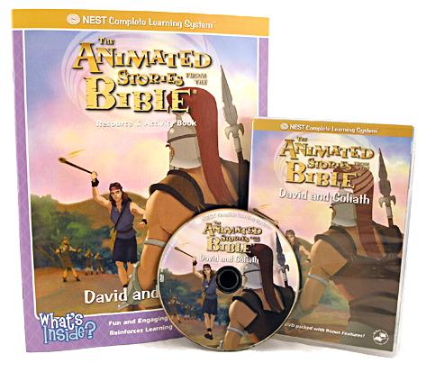 David si Goliat - desene animate