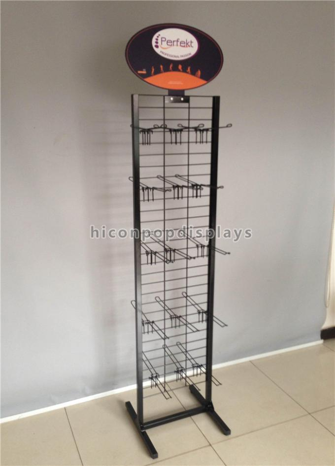 Simple Hanging Retail Display Fixtures 5 Tier 25 Prong