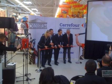 Deschidere Carrefour Colosseum