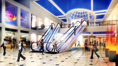 Intrare principala-mall