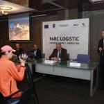 Conferinta de presa - Parc logistic comuna Letcani