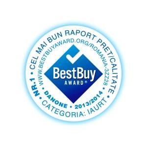 BEST BUY AWARD-ROMANIA-DANONE