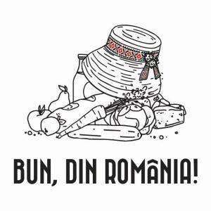 Bun, din Romania - logo