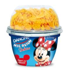 Delicios-Mic-Dejun-iaurt cu capsuni (Minny)-