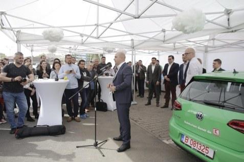 Conferinta lansare retea statii-Kaufland Romania