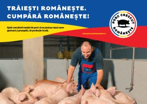 Porc Crescut Românește fermierii