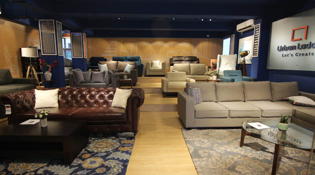 sofa materials bangalore bed sales singapore urban ladder launches its exclusive lounge in