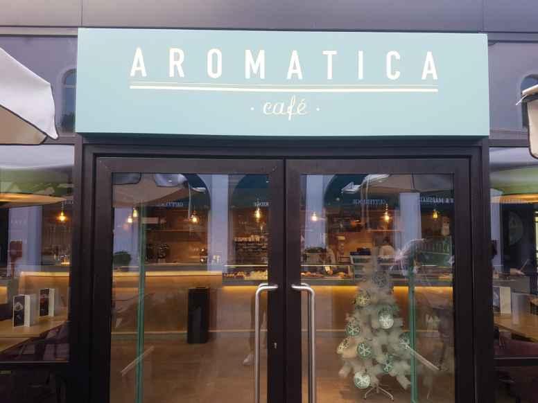 Ingresso di Aromatica Caffè