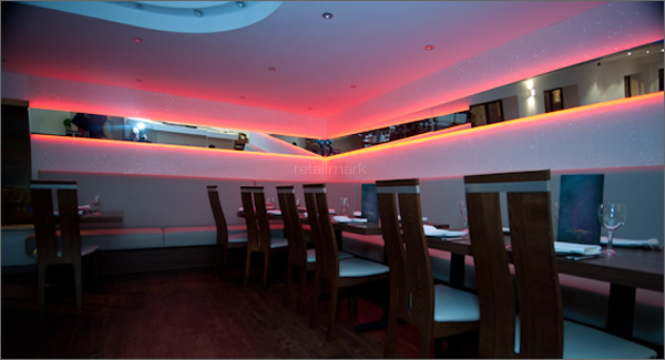 Indian restaurant interior design uk