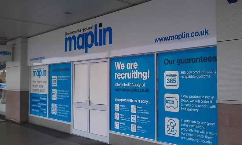 Electricals chain Maplin races to secure sale amid retail gloom