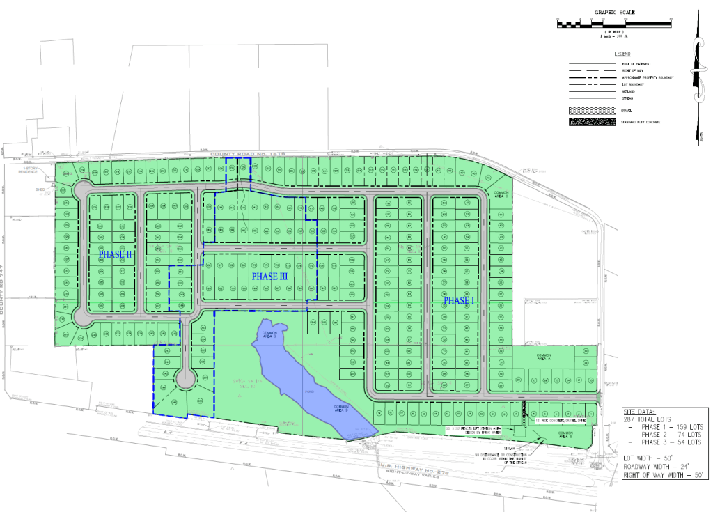 Kingfisher Site Plan
