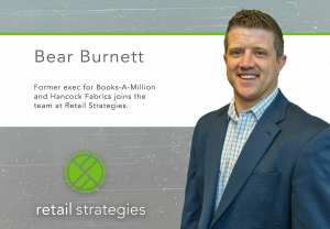 Bear Burnett joins the team at Retail Strategies