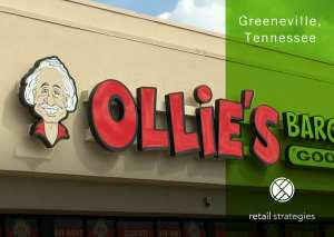 Success ~ Long lines to shop at Ollie's in Greeneville, TN