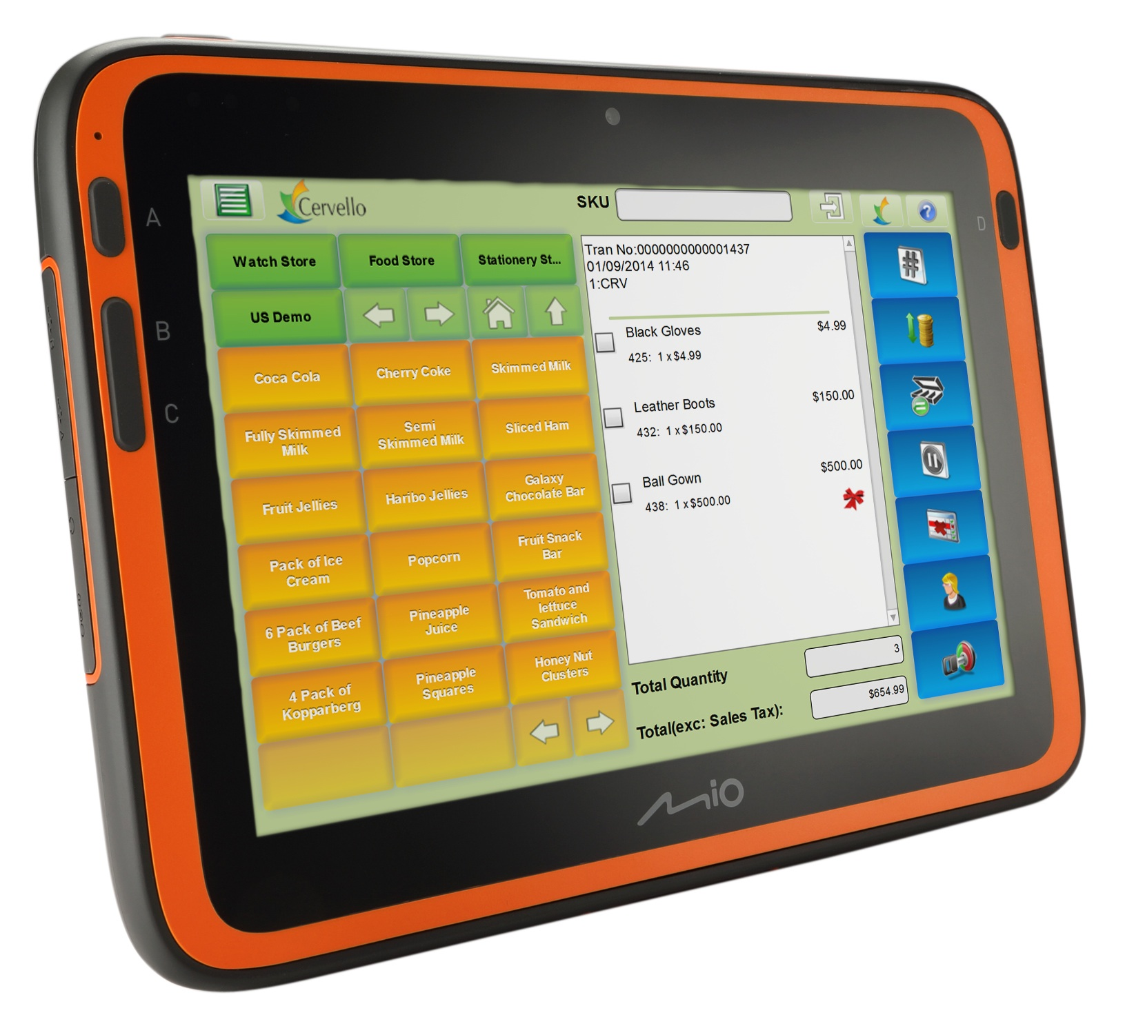 New semi-rugged tablet aimed at retail use