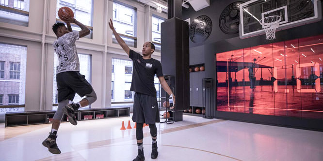 Nike goes big with an experiential concept in Soho