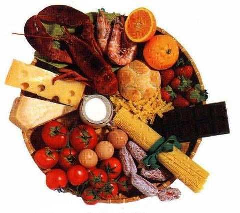 cibo ed istamina