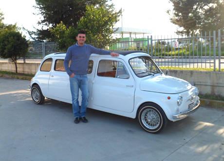 La Fiat 500 Limousine da San Salvo a Hollywood