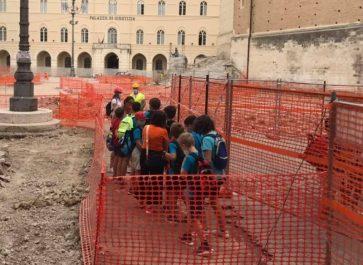 """Chieti: """"Giornate Europee dell'Archeologia"""" tra piazza S. Giustino e le terme romane"""