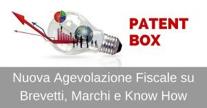 Patent Box – Circolare Agenzia delle Entrate 36/E