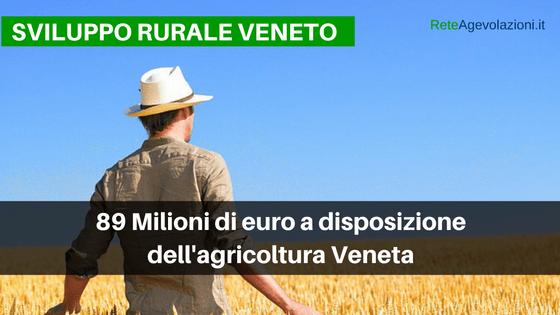 [VENETO] Agevolazioni Per l'Agricoltura 2017- PSR 2014-2020