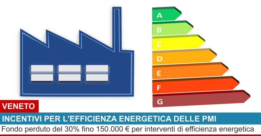 bando efficienza energetica veneto