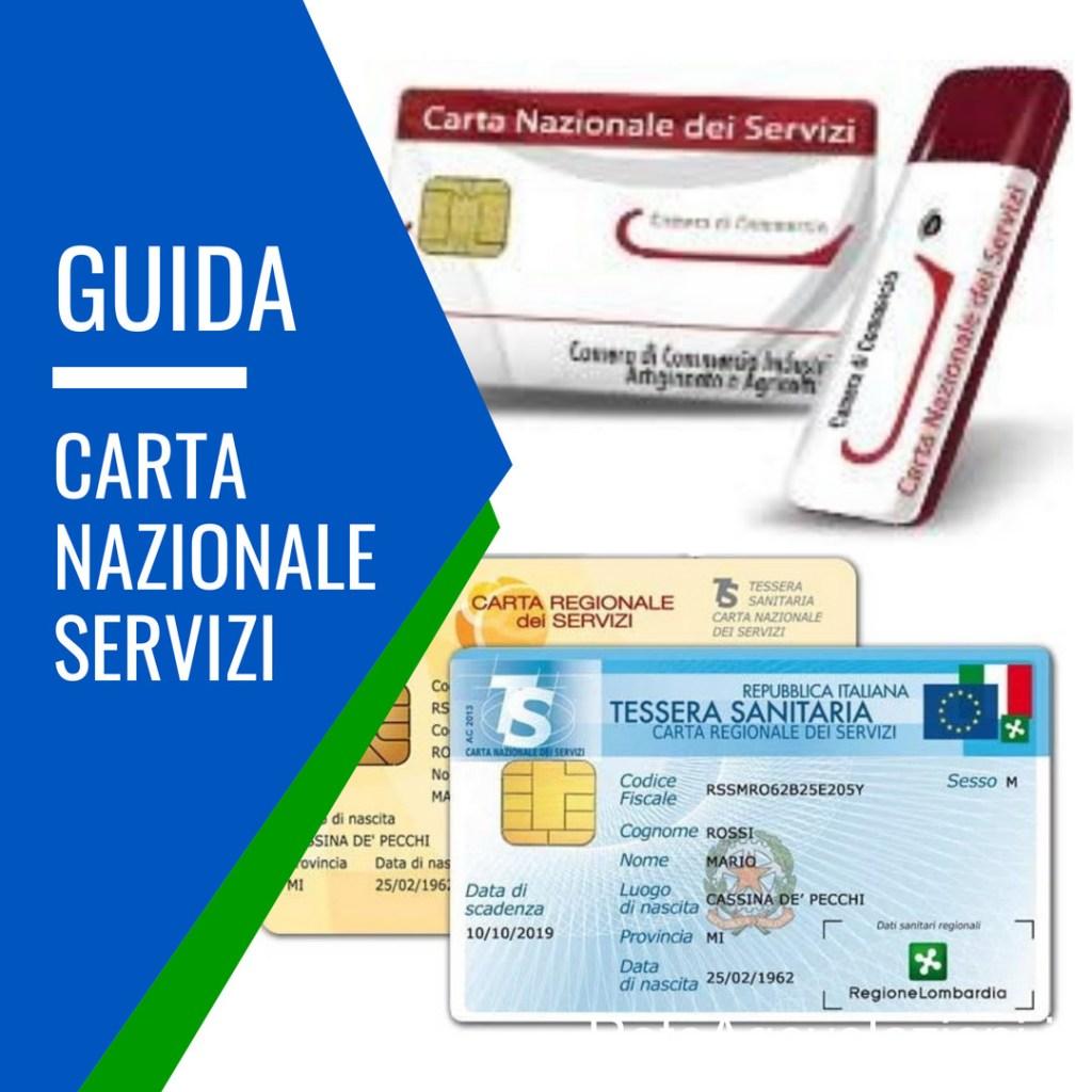 carta nazionale dei servizi