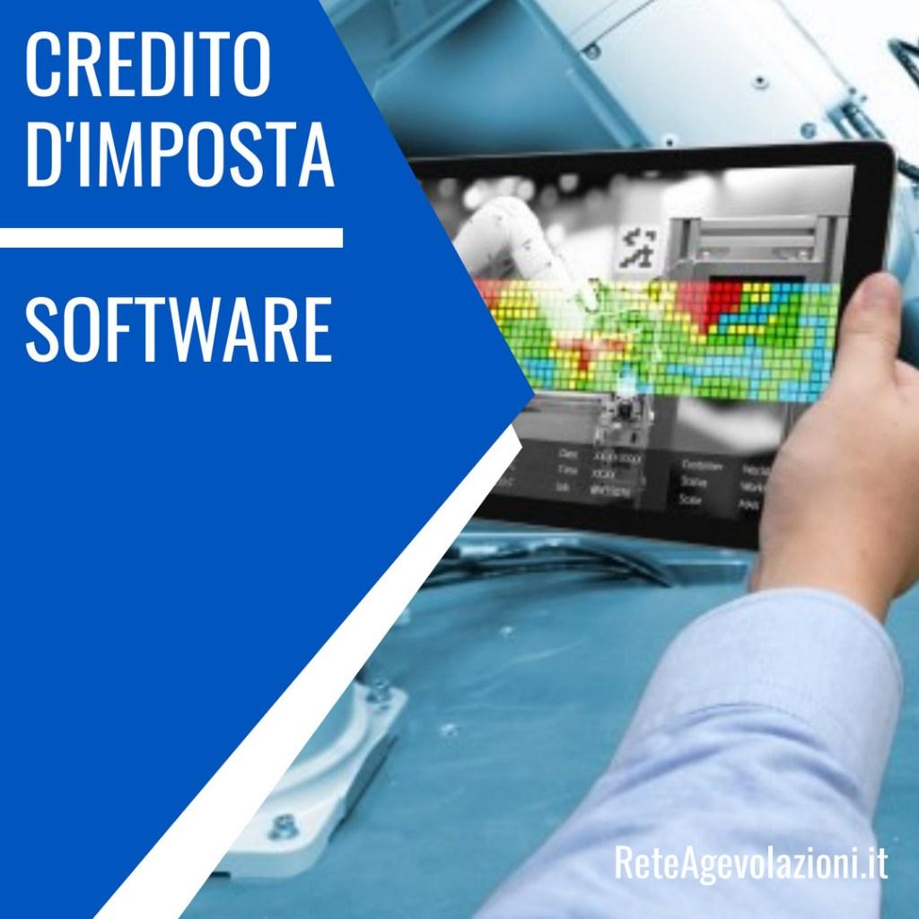 credito di imposta software