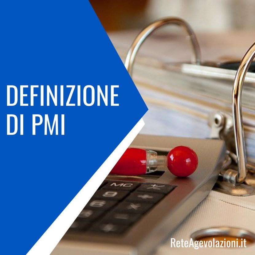 Definizinione PMI