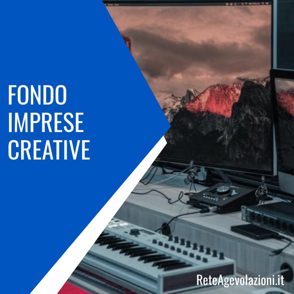 fondo imprese creative