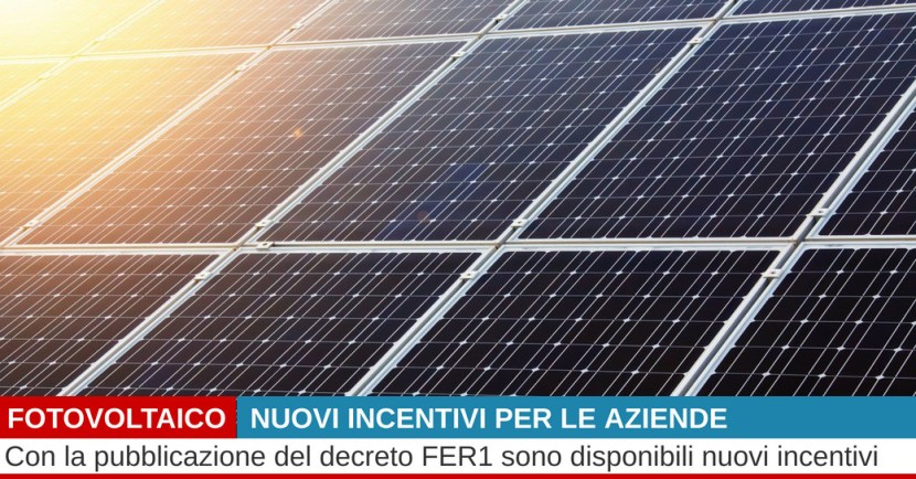 incentivi fotovoltaico 2019