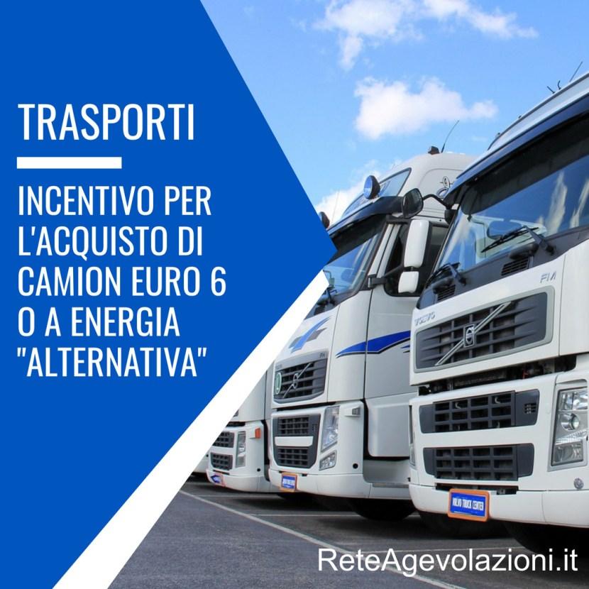 Incentivo Camion Euro 6