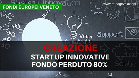 start up INNOVATIVE veneto CREAZIONE