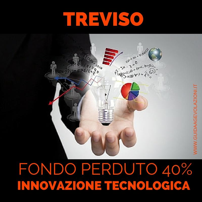 [TREVISO] 40% Fondo Perduto per Investimenti Innovativi