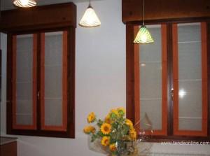 Tende da interno stecche e bordi a vetro  Padova