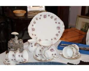 Antico servizio da caff in porcellana Bone China Royal Albert  Albano Laziale