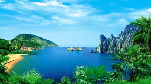 Paesaggio mare  Latina