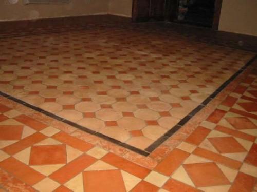Recupero pavimento cotto antico  Roma