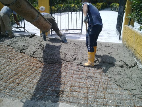 Pavimento Stampato monolitico in calcestruzzo  Giugliano